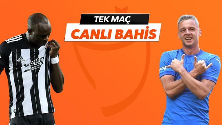 Beşiktaş-BB Erzurumspor canlı bahis heyecanı Misli.com'da
