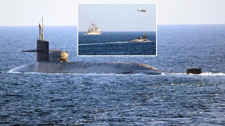 Nükleer denizaltı USS Georgia, Hürmüz Boğazı'ndan geçti!