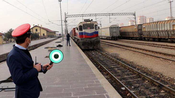 Çin'e giden ikinci ihracat treni Kayseri'ye ulaştı