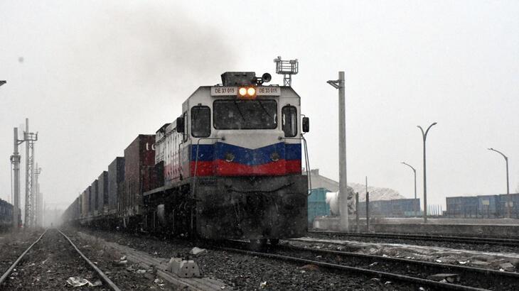 Çin'e giden ikinci ihracat treni, Sivas'a ulaştı