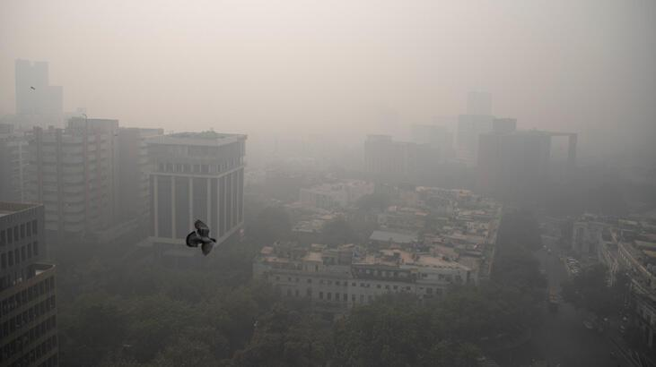 Hava kirliliği Hindistan'da bir yılda 1,67 milyon kişinin ölümüne yol açtı