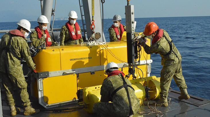 MSB: Türkiye Cumhuriyeti tarihinin en derin sonar görüntüleme operasyonu icra edildi