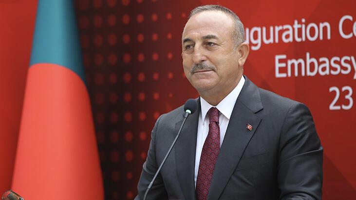 Bakan Çavuşoğlu: Büyük bir mutluluk ve onur duyuyorum