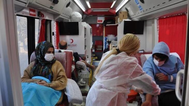 İslahiye'de 50 ünite kan bağışı yapıldı