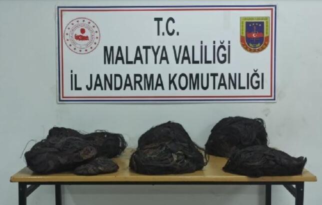 Malatya'da kablo hırsızlığına gözaltı