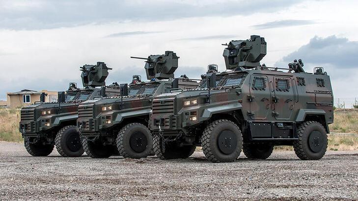 Macaristan Türkiye'den 40 zırhlı daha araç alacak