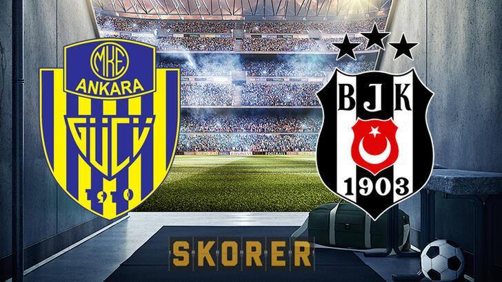 Ankaragücü Beşiktaş maçı ne zaman, hangi kanalda? Ankaragücü - Beşiktaş maçı hakemi, muhtemel 11'i