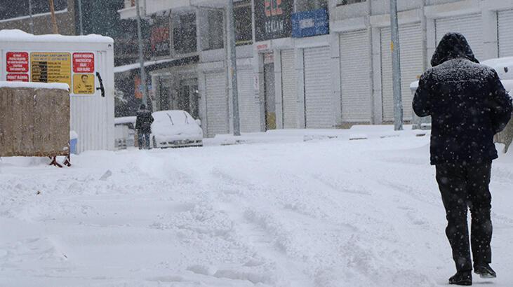 Van'da 320 yerleşim yerinin yolu kardan kapandı