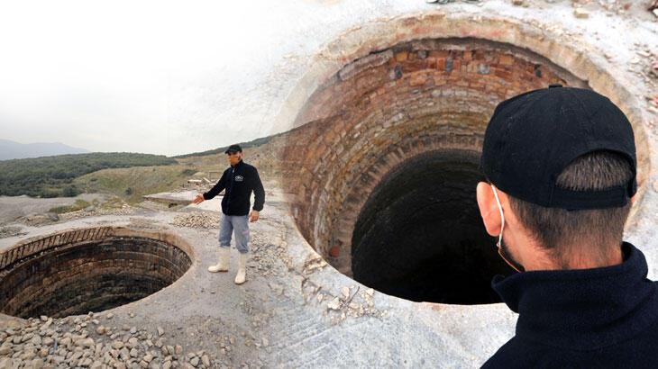 Kireç ocağının 100 metrelik kuyuları korkutuyor! 'Sonucu ölümcül olabilir'