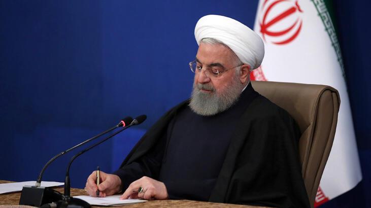 Ruhani: Deli adam Trump'ın sonu Saddam Hüseyin gibi olacak