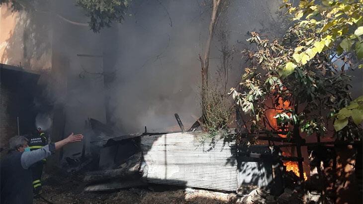 Son dakika... Adana'da evde çıkan yangın, çevredeki binalara da sıçradı