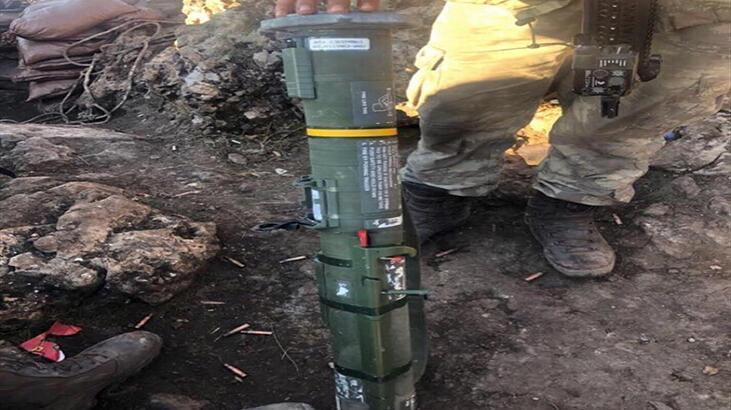 MSB: Pençe-Kaplan Operasyonu'nda PKK'ya ait mühimmat ele geçirildi