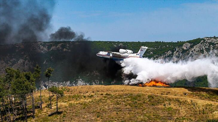 Orman yangınlarına müdahale filosu 2021'de daha da güçlendirilecek