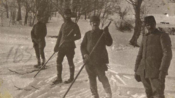 MSB tarihi fotoğrafları paylaştı! 1915 Sarıkamış...