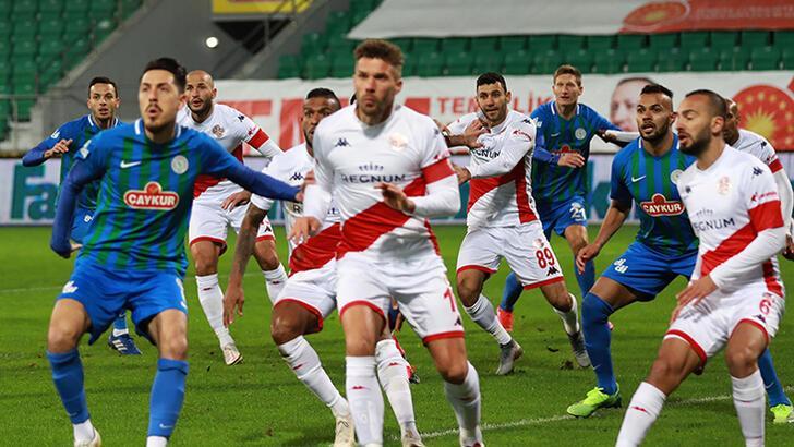 Çaykur Rizespor - Antalyaspor: 2-1