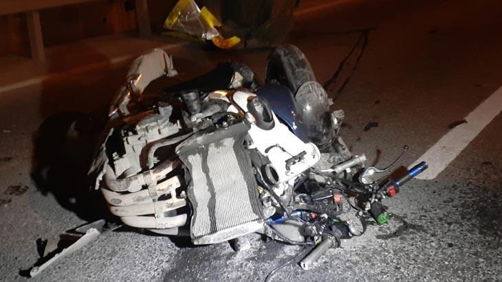 Zeytinburnu'nda motosiklet kazası! İki kardeş ağır yaralı