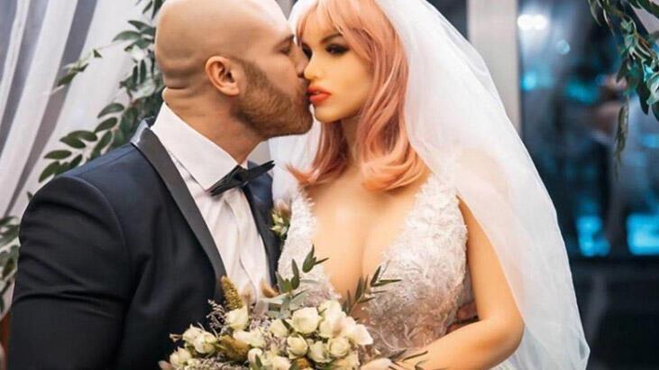 Şişme kadınla evlendikten sonra 'bozulduğunu' söyledi