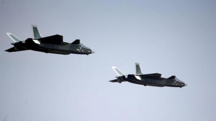 Çin savaş uçakları, Tayvan hava savunma sahasını ihlal etti