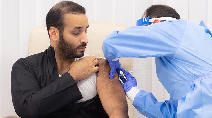 Prens Selman koronavirüs aşısı oldu