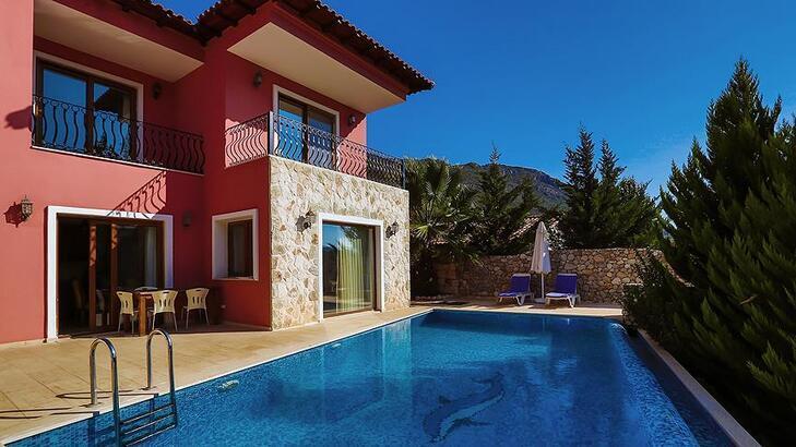 """Antalya'da yaklaşan yılbaşıyla """"villa turizmine"""" ilgi arttı"""