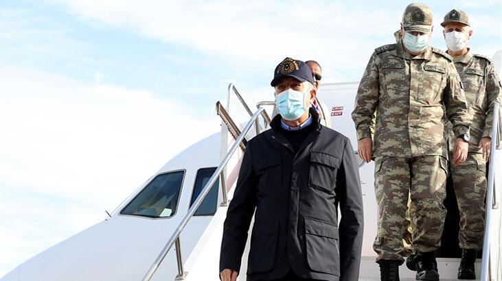 Bakan Akar'dan Libya'da kritik görüşme