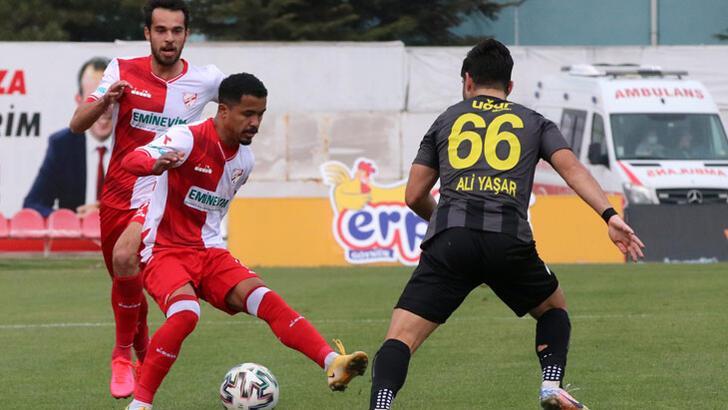 Beypiliç Boluspor-İstanbulspor: 0-2