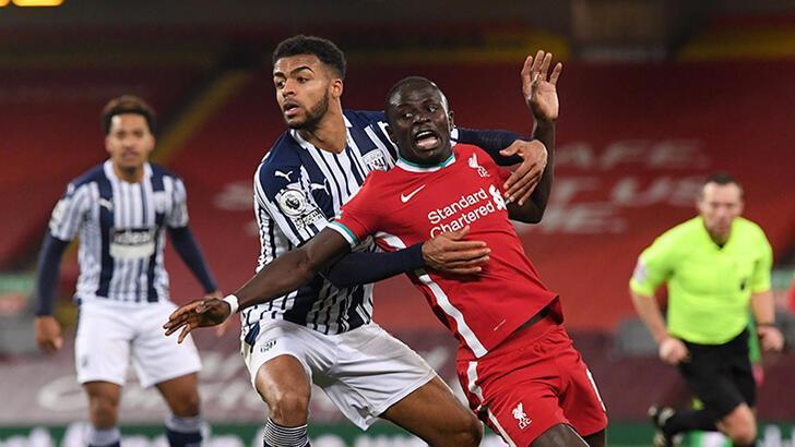 Liverpool'a West Bromwich Albion duvarı! İlk kez puan kaybetti