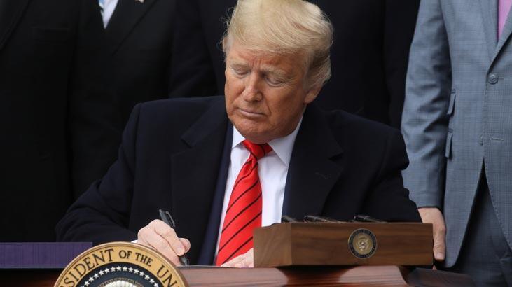Son dakika: ABD Kongresi onayladı Trump 'rezalet' demesine rağmen imzaladı