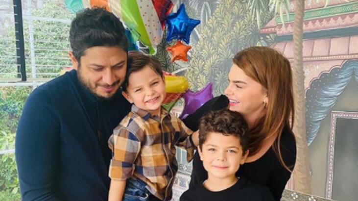 Pelin Karahan'dan evde doğum günü kutlaması