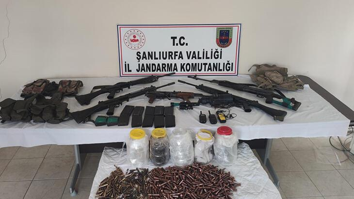 Şanlıurfa'da kaçak silah ve uyuşturucu operasyonu!