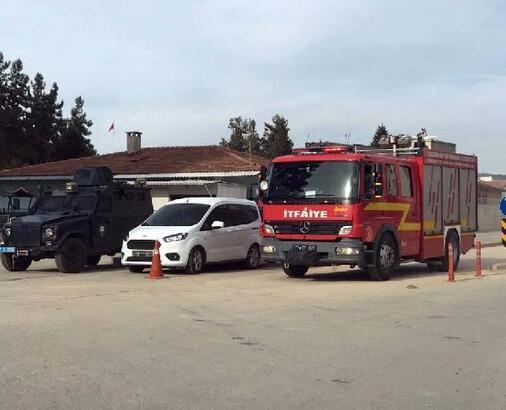 Gaziantep'te cezaevinde yangın tatbikatı