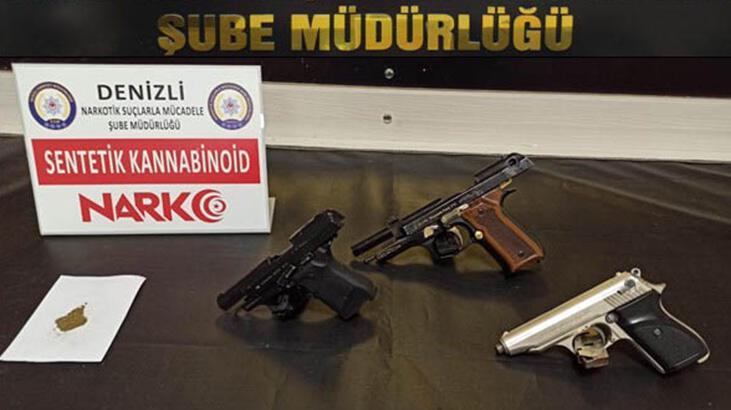 Denizli'deki uyuşturucu operasyonunda 6 tutuklama