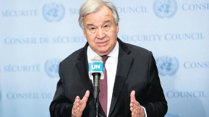 BM Genel Sekreteri Guterres: 2021'i şifa yılı yapalım