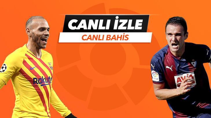 Barcelona - Eibar maçı Tek Maç ve Canlı Bahis seçenekleriyle Misli.com'da