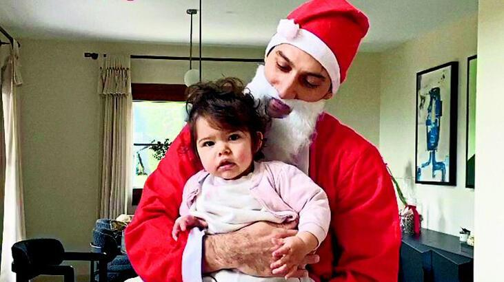Caner Yıldırım, Noel Baba kılığına girdi