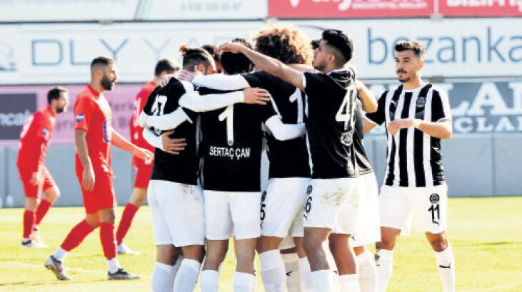 Manisa FK Sarıyer'i ağırlıyor
