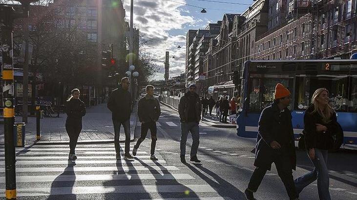 İsveç'te son 24 saatte 32 bin 485 yeni vaka tespit edildi