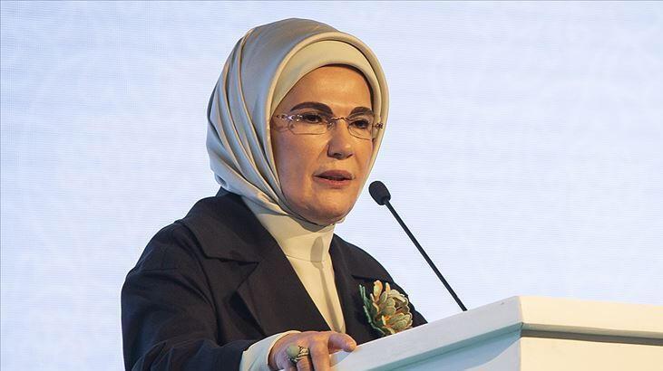 Emine Erdoğan: Her kadın cinayeti kalbimizde yeni yaralar açıyor