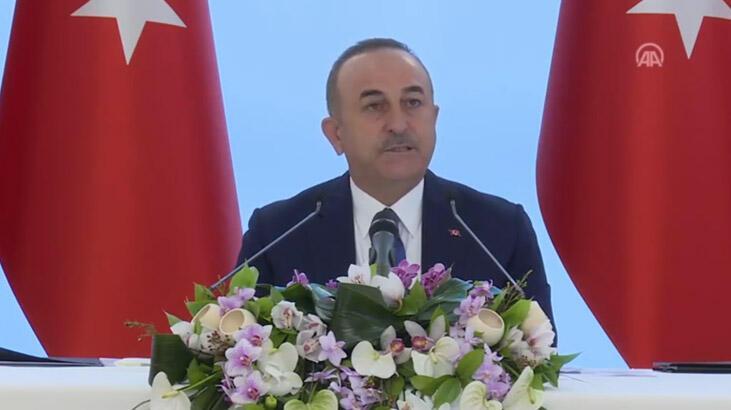 Son dakika: Bakan Çavuşoğlu'ndan önemli açıklamalar!