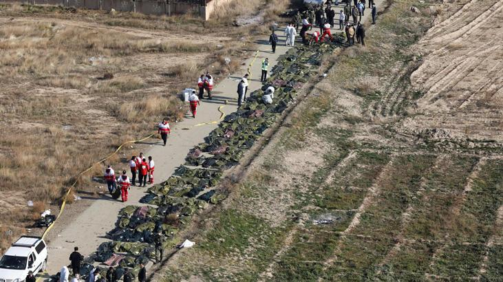 İran, füzeyle vurduğu uçaktaki yolcuların yakınlarına 150'şer bin dolar ödeyecek
