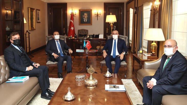 Dışişleri Bakanı Çavuşoğlu, Türk Konseyi Genel Sekreteri Amreyev ile görüştü