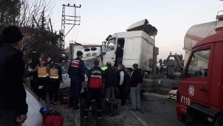 Lüleburgaz'da kaza: 2 yaralı
