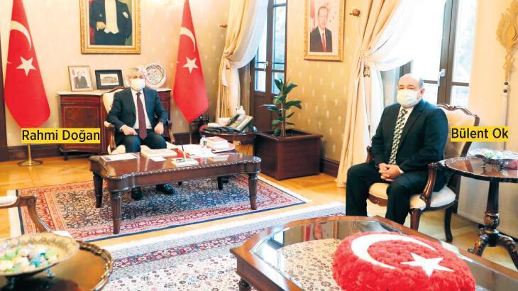 Hatay Büyükşehir'den Vali Doğan'a HADO bilgilendirmesi