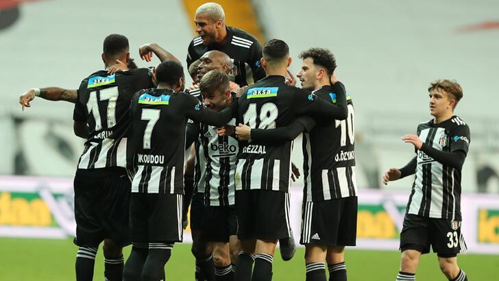 Beşiktaş 2020'yi mutlu kapadı