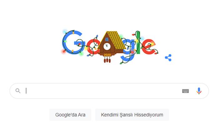 202 Yılbaşı nedir, ne anlama geliyor? Google, Yılbaşı Doodle'ında hata mı yaptı?