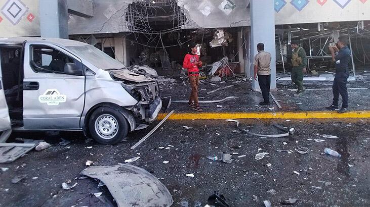 Aden Havalimanı'nda patlamada bilanço artıyor!