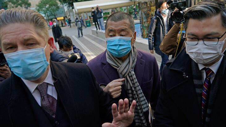 Hong Kong'da muhalif medya patronu Jimmy Lai bir kez daha hapse atılıyor