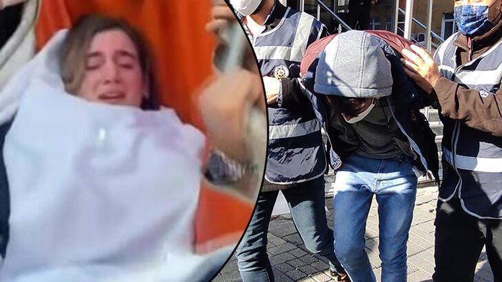 Şişli'de hemşireyi rehin alan saldırgan adliyeye sevk edildi!