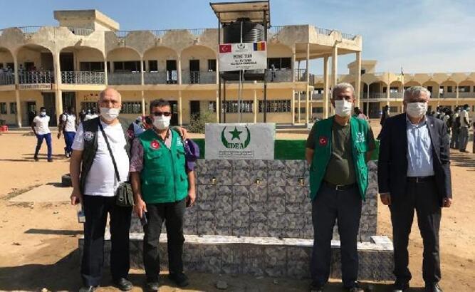 Eğitim-Bir-Sen, Çad'da 'Erol Battal Kız Yetimhanesi' açılışında yer aldı