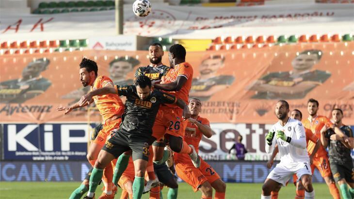 Aytemiz Alanyaspor - Başakşehir : 3-0
